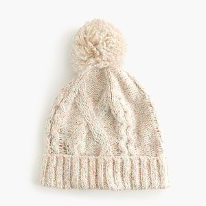 NWOT J. Crew Chunky Cable-Knit Hat
